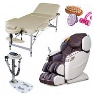 Купить массажные столы, массажные кресла, вибромассажеры, ручные массажёры,