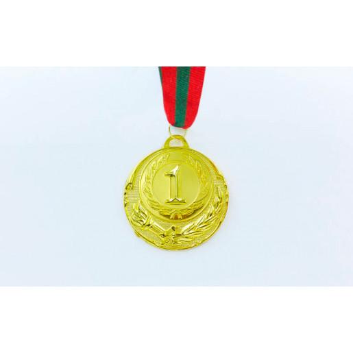 Медаль спортивная с лентой Приднестровье ZING d-6,5см C-4329-P