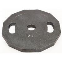 Блины (диски) 20кг d-52мм UR Newt NT-5221-20