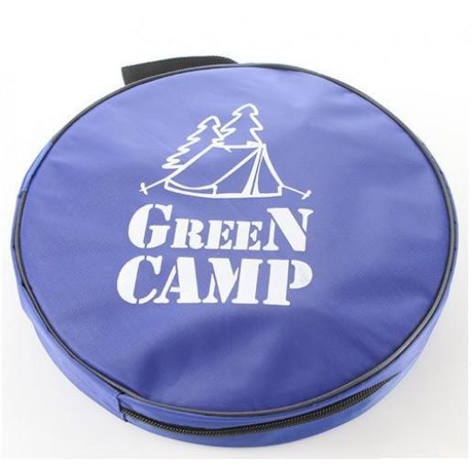 Ведро туристическое GreenCamp, 11л складное