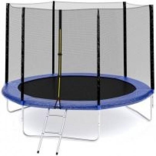 Батут Sky Jump 252 см с защитной сеткой