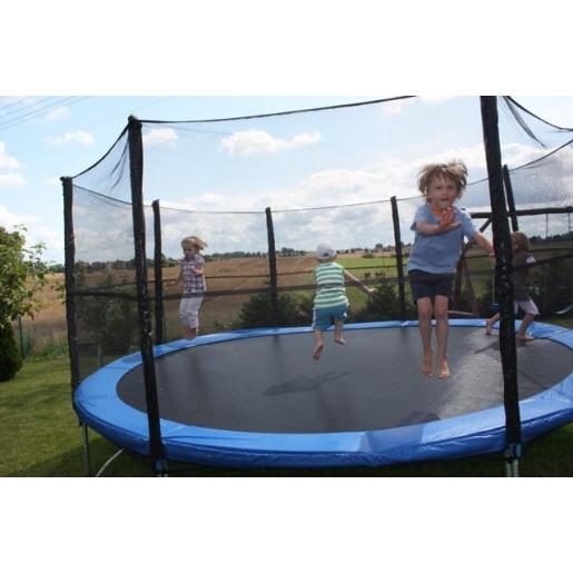Батут Sky Jump 374 см с защитной сеткой