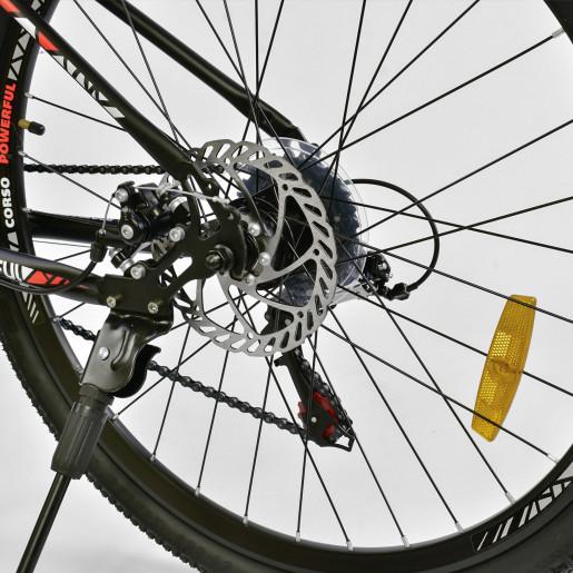 Велосипед 26* AIRSTREAM Чёрный-красный