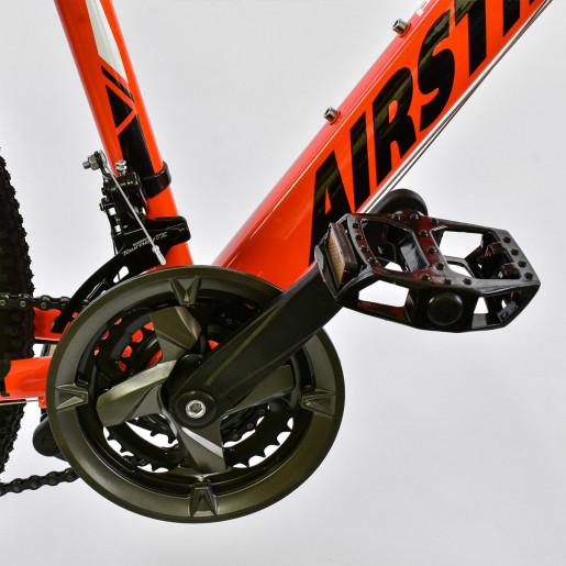 Велосипед 26* AIRSTREAM Оранжевый-чёрный