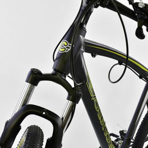 Велосипед 26* EVOLUTION Чёрный-жёлтый