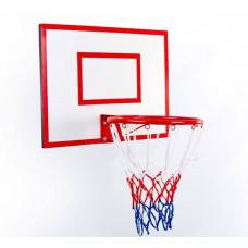 Щит баскетбольный с кольцом и сеткой LA-5383
