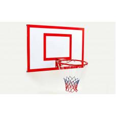Щит баскетбольный с кольцом и сеткой LA-6298