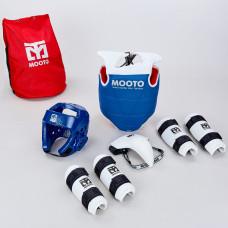 Набор экипировки для тхэквондо детский MTO BO-0509-BL