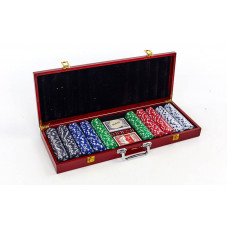 Набор для покера в деревянном кейсе IG-6645