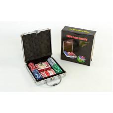 Набор для покера в алюминиевом кейсе IG-2470