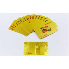 Игральные карты золотые IG-4567-G GOLD 500 EURO