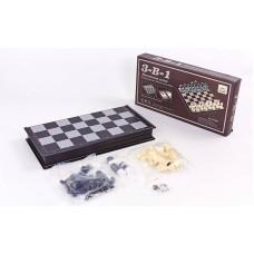 Шахматы, шашки, нарды 3 в 1 SC9800