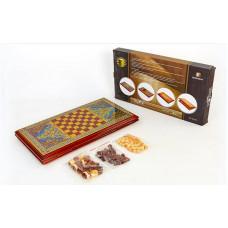 Нарды, шахматы 2 в 1 BAKU XLY760-B