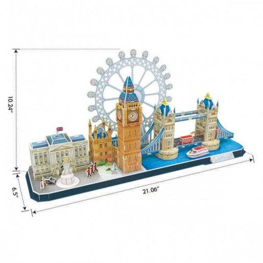 3D PUZZLE City Line London MC253h