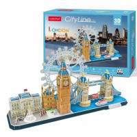 3D PUZZLE City Line London MC253h