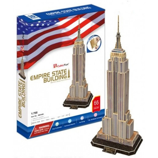 3D PUZZLE Empire State Building MC048h