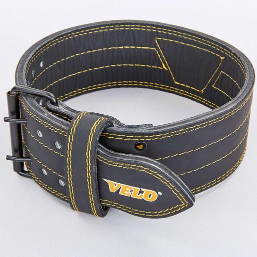 Пояс для пауэрлифтинга кожаный VELO VL-8184