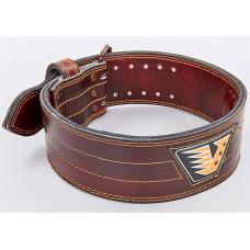 Пояс атлетический кожаный VELO VL-8185