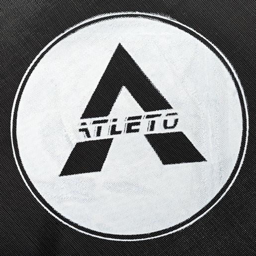 Батут Atleto в диаметре 374 см с защитной сеткой