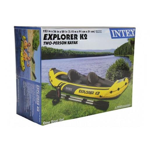 Байдарка EXPLORER K2 2-х местная 68307