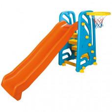 Горка с баскетбольным кольцом
