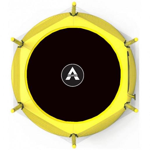Батут Atleto в диаметре 152 см с защитной сеткой