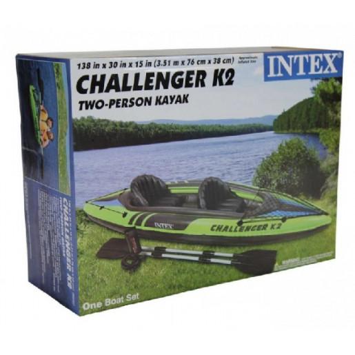 """Надувная байдарка """"Challenger K2"""""""