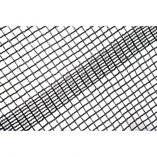 Батут Atleto в диаметре 404 см с двойными ногами и защитной сеткой