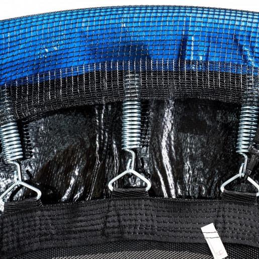 Батут Atleto в диаметре 465 см с  защитной сеткой