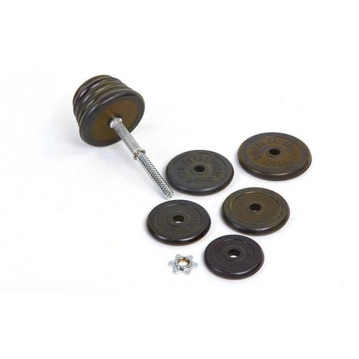 Гантели 40кг разборные (2шт) обрезиненные TA-0031-40R