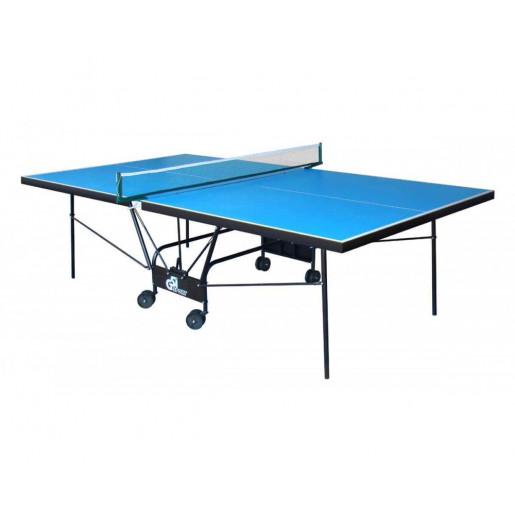 "Стол теннисный ""GSI-sport"", модель ""Compact Outdoor Alu Line"", артикул Gt-4"