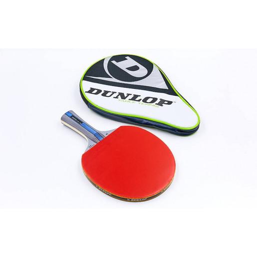 Ракетка DUNLOP для настольного тенниса 1 штука в чехле MT-679202 BLACKSTORM POWER