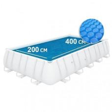 Солнечное покрывало для бассейна 400x200