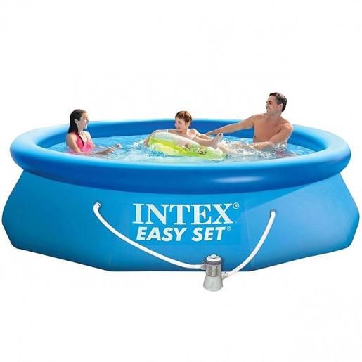 Бассейн надувной Easy Set 305х76см с фильтр-насосм