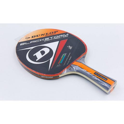 Ракетка DUNLOP для настольного тенниса 1 штука MT-679203 BLACKSTORM CONTROL