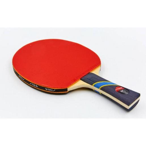 Ракетка STIGA для настольного тенниса 1 штука в цветной коробке MT-7137 TRIUMPH ORIGINAL BLADE