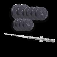 Набор 57 кг с прямым грифом TITAN