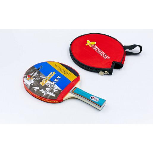 Ракетка BUTERFLY для настольного тенниса 1 штука в чехле 850