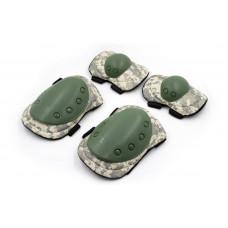 Защита тактическая наколенники, налокотники BC-4039-H