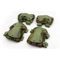 Защита тактическая наколенники, налокотники BC-4267-BK