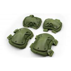Защита тактическая наколенники, налокотники BC-4703-O