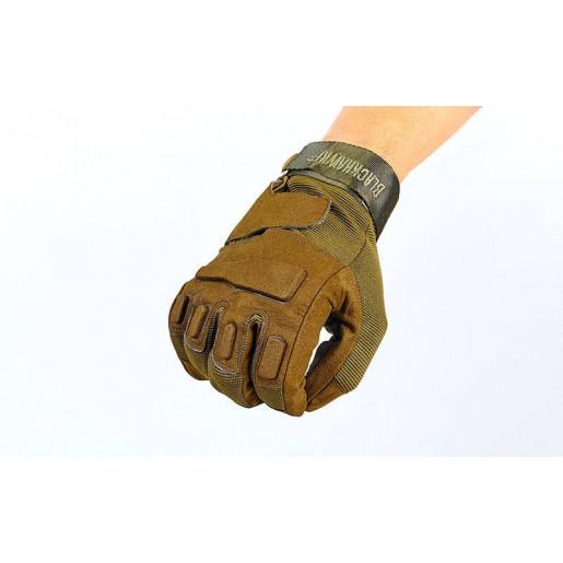 Перчатки тактические с закрытыми пальцами BLACKHAWK BC-4468-G