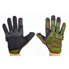 Перчатки тактические с закрытыми пальцами MECHANIX WEAR BC-4698-G