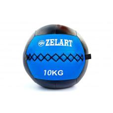 Мяч волбол 10кг для кросфита и фитнеса WALL BALL FI-5168-10