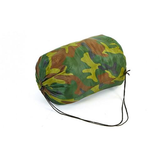 Спальный мешок одеяло с капюшоном камуфляж SY-4051