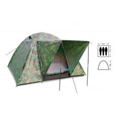 Палатка 3-х местная с тентом и тамбуром SY-034