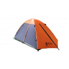 Палатка 3-х местная с тентом и коридором TOURIST CT17103