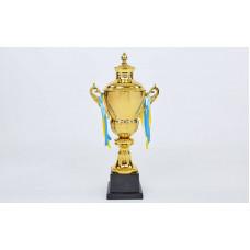 Кубок спортивный с ручками и крышкой HEIGHT G104A
