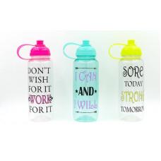 Бутылка для воды спортивная FI-5966 MOTIVATION