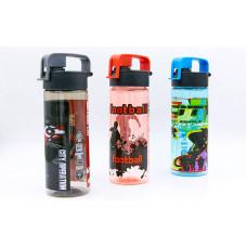 Бутылка для воды спортивная 6633